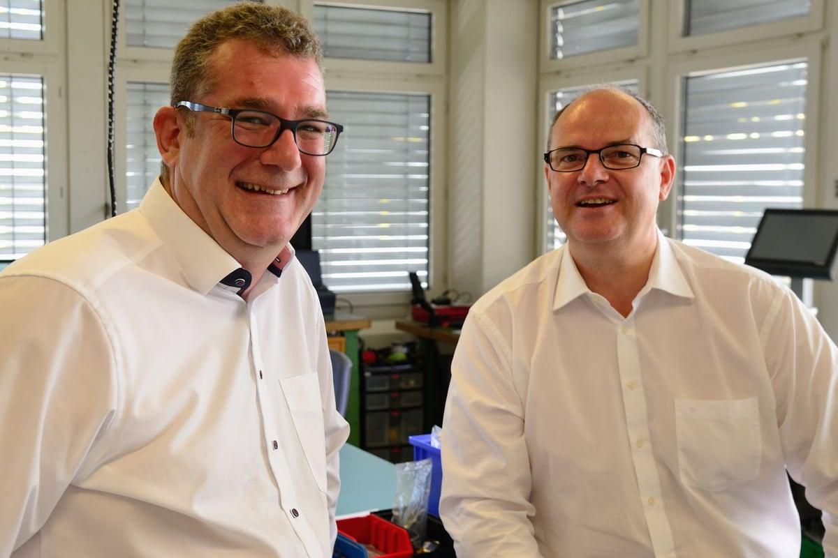[Bild: Dominik Zehnder (links) und Dominic Lachat]