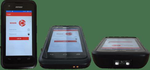 Denso BHT-1600 Serie im Smartphone-Stil