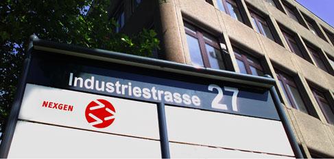 Gebäude der Nexgen AG in Volketswil, Zürich, Schweiz