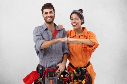 Servicetechniker: Staging und Installation