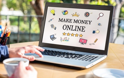 geld verdienen mit dem internet