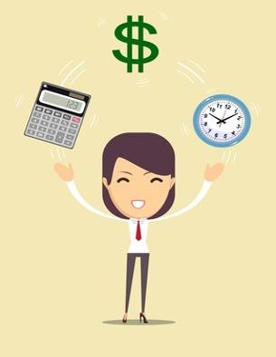 Buchhaltung und Administration kontaktieren