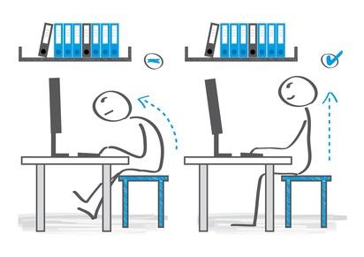 Arbeitsplatz zeichnung  Was dient der Erleichterung am Arbeitsplatz?