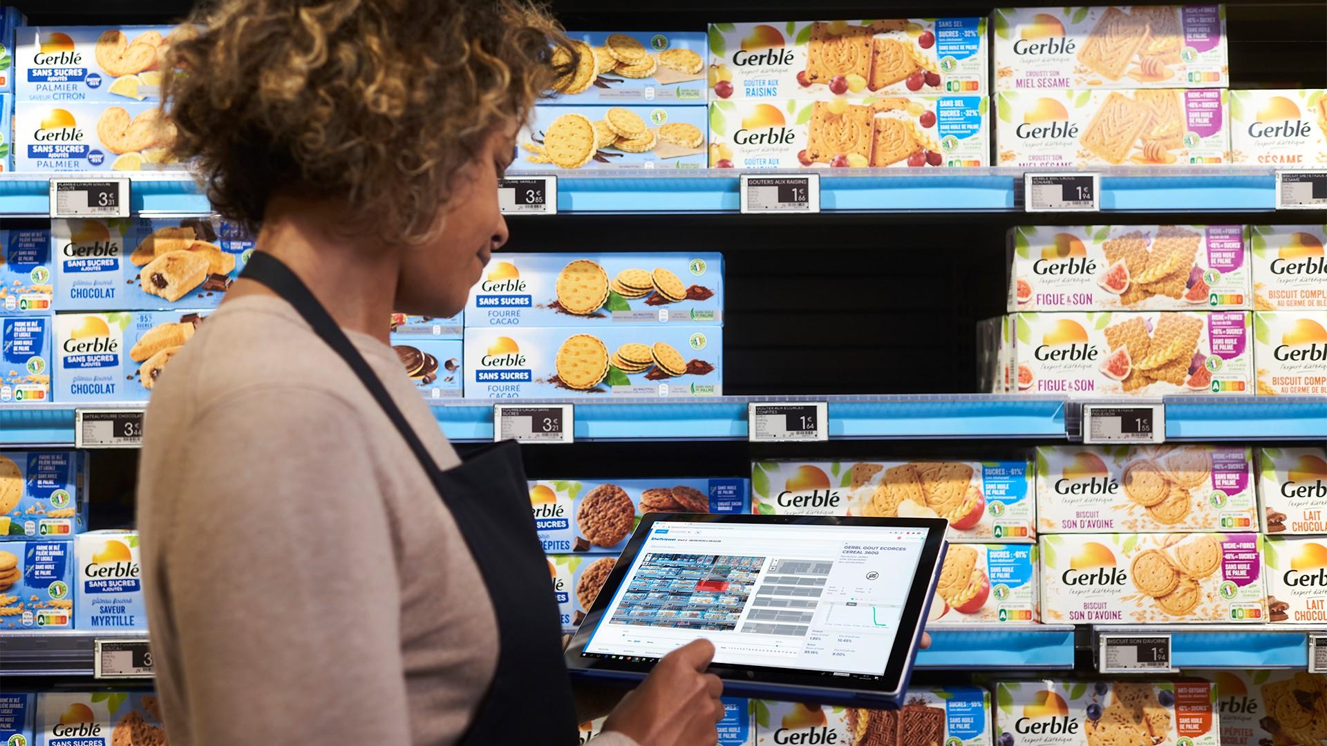 Captana – Die Gestell Überwachung mit elektronischen Preisschildern